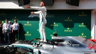 Hamilton-győzelem és Ferrari-hiba a Hungaroringen