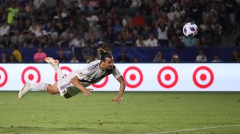 Zlatan első tripláját lőtte Amerikában