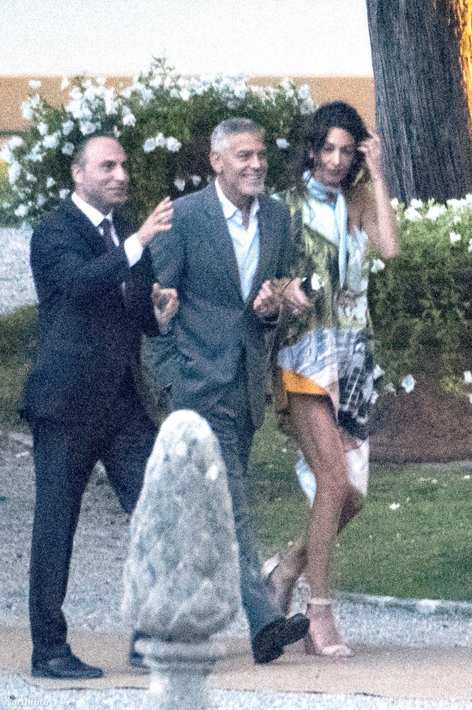 Amal és George Clooney az elmúlt egy évben kicsit ritkábban léptek nyilvánosság élé mint korábban, hiszen tavaly nyáron születettek meg a gyermekeik
