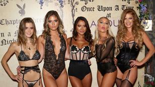 Fehérneműs Playmate-lányokban gazdag Playboy-buli volt a hétvégén