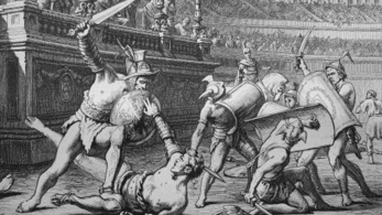 A római gladiátorok kövérek voltak, és alig ettek húst