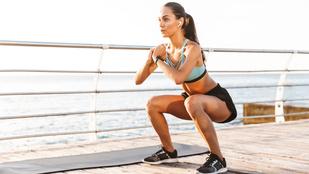 A guggolás 10 alapváltozata a szép lábakért és a kerek fenékért