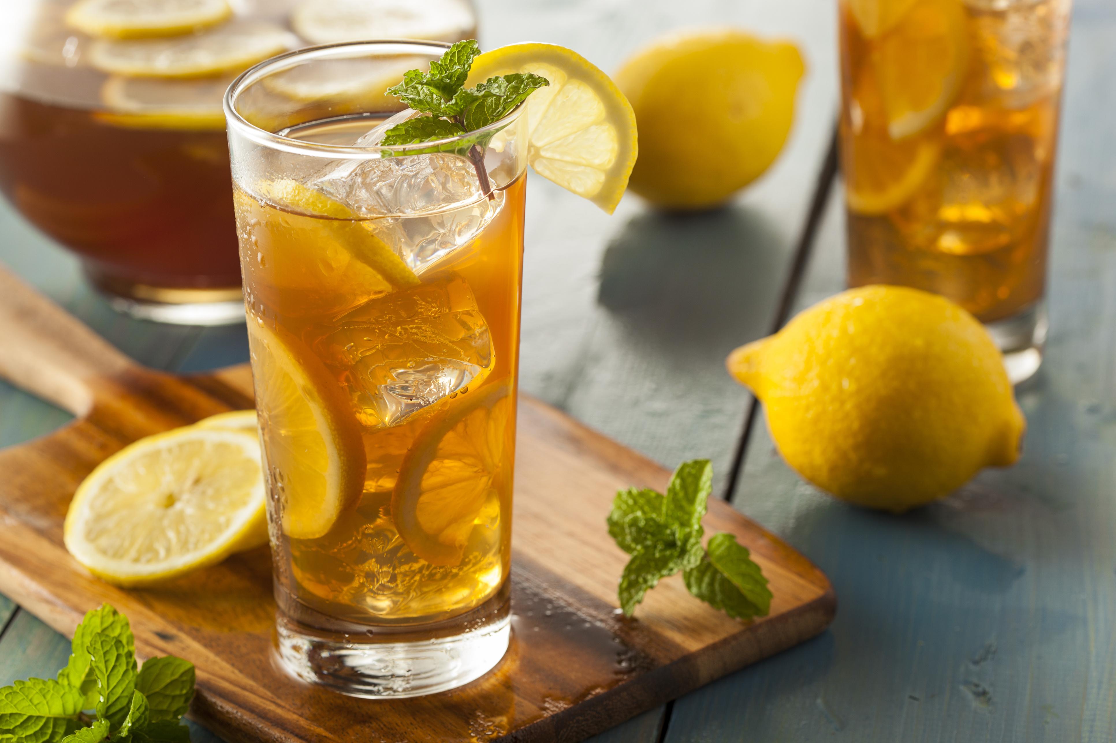 Mix lemon iced tea recipe, lemon iced tea, Nari Recipe