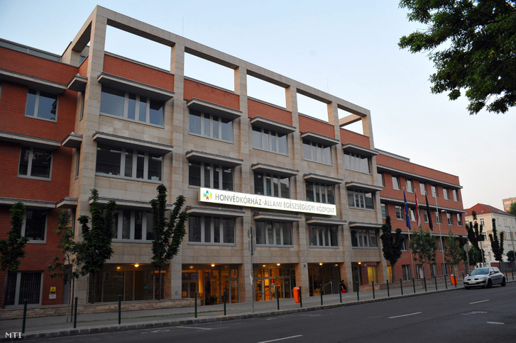 A Honvédkórház - Állami Egészségügyi Központ épülete Budapesten.