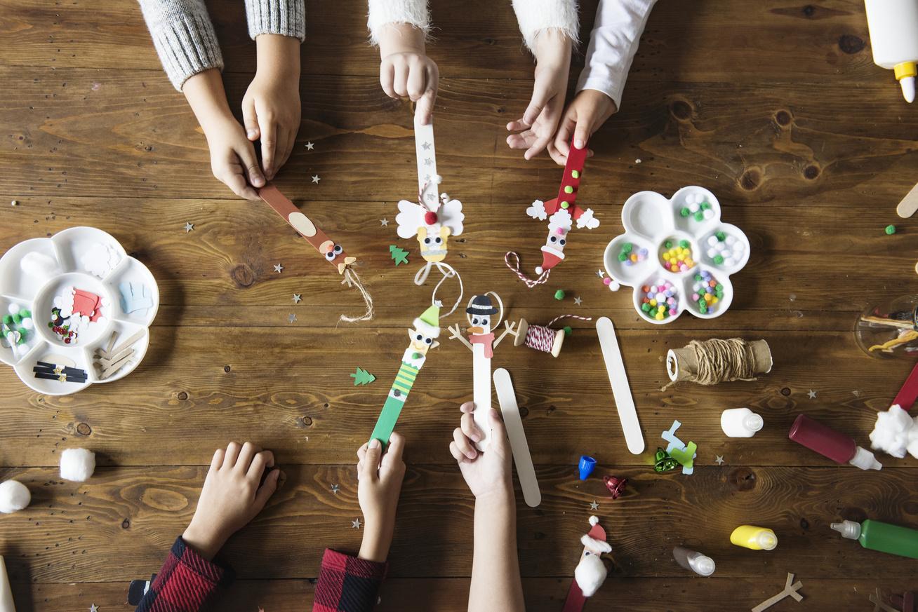 kreatív gyerekek karácsony készülődés