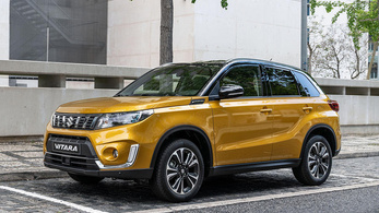 Itt az új Suzuki Vitara