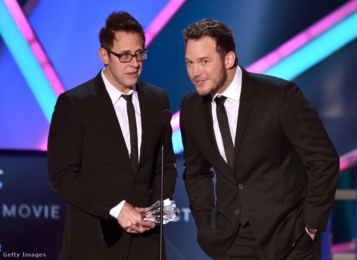 James Gunn és Chris Pratt
