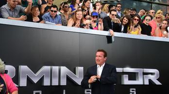 Születésnapján érkezett Budapestre Schwarzenegger a Terminátor-forgatás miatt