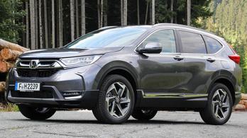 Bemutató: Honda CR-V - 2018.