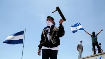 Ortega elismerte, hogy közel 200 halottja van már a tüntetéseknek