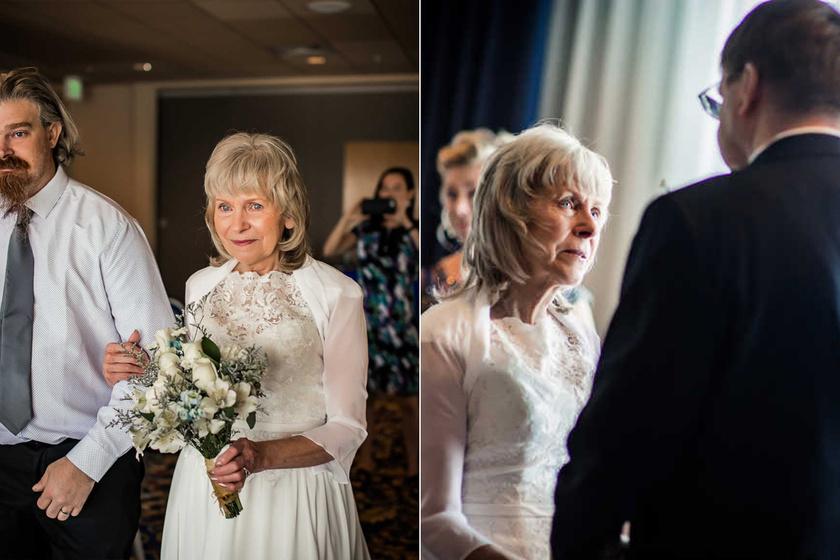 Te idővel feladnád az álmaid? Ez a nő 40 évet várt az álomesküvőre