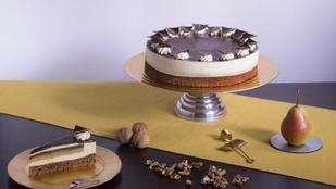 Mézes-diós körtés az ország tortája