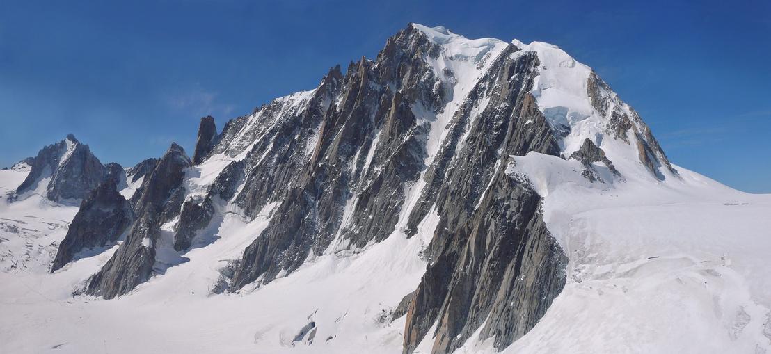 Mont Blanc du Tacul - July