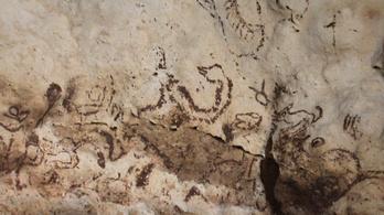 Egyedülálló maja festményekre bukkantak egy barlang mélyén