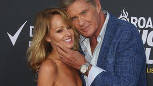 David Hasselhoff feleségül vette 29 évvel fiatalabb barátnőjét