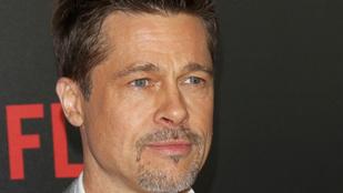Brad Pitt is Magyarországon lehet