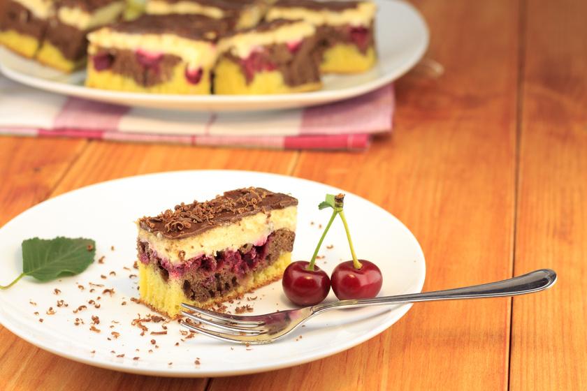 Igazi régi kedvenc süti: a nagyi is így készítette a Duna-hullámot