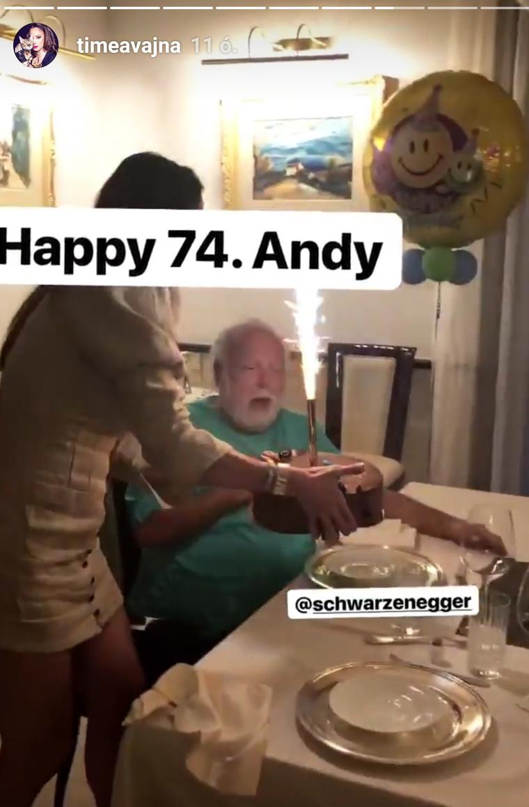 Boldog hetvennegyedik Andy!