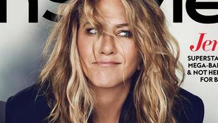 Jennifer Aniston: Nem tört össze a szívem, hogy szétmentünk Justin Theroux-val