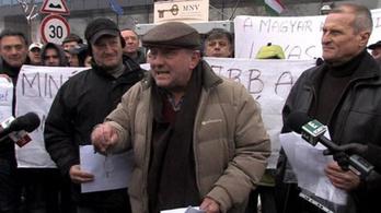 Fábry állt a Lovi-demonstráció élére