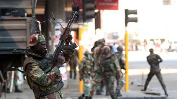 Hat tüntetőt megöltek a katonák a zimbabwei választás utáni tiltakozásokban