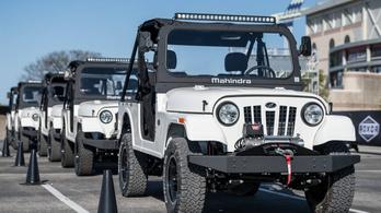 A Jeep kiszorítaná a Mahindrát
