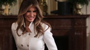 Melania Trump kertészkedésében is megtalálta a mémforrást az internet