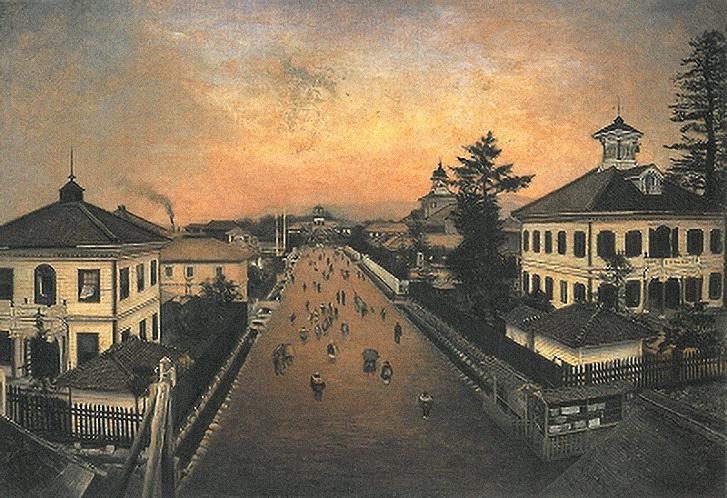 Jamagata városa 1881-ben