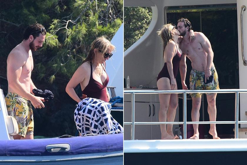 Így romantikáztak a vakáció alatt.
