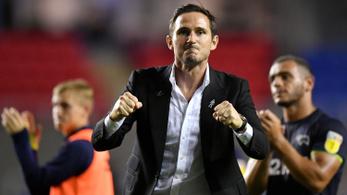 Óriási happy enddel végződött Lampard edzői bemutatkozása