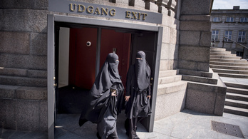 Dániában kioszották az első nikáb viselésért járó bírásgot