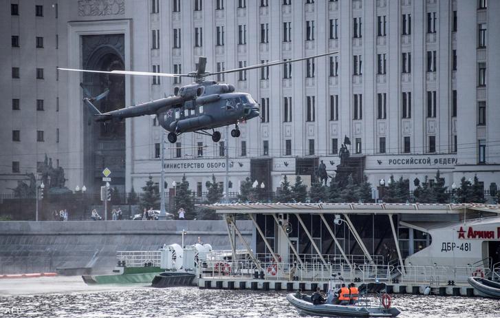 A balesetben egy ilyen Mi-8-as helikopter volt érintett