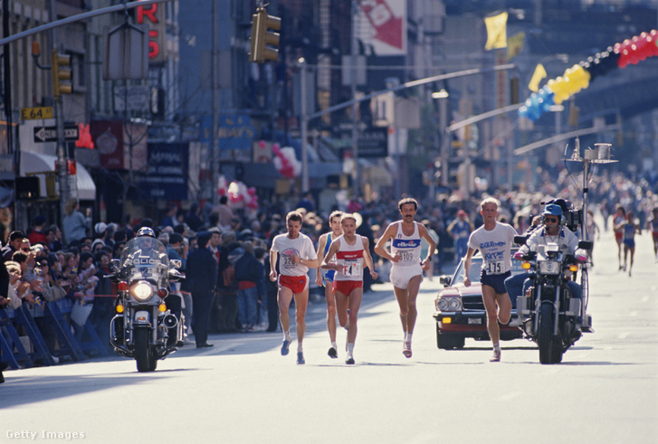 A New York City Marathon 1988-ban