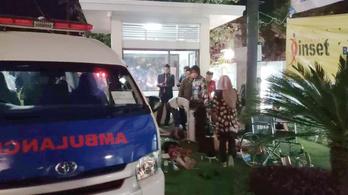 Legalább hárman meghaltak egy földrengésben az indonéz turistaparadicsomban