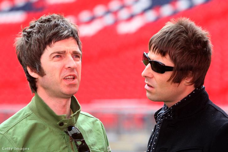 Noel és Liam Gallagher 2008-ban