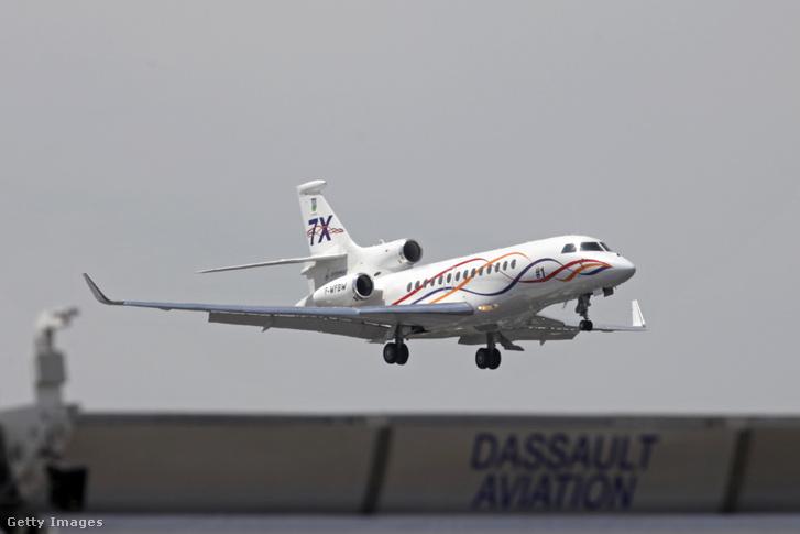 Egy Dassault Falcon 7X