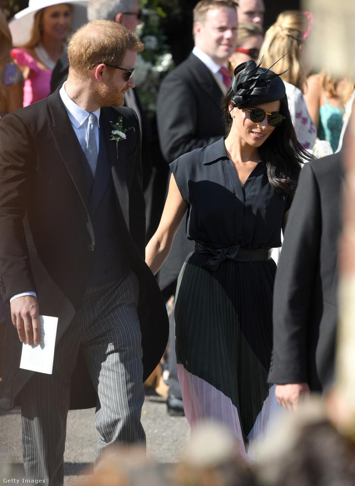 Mozgalmas hétvégéje volt Harry hercegnek és a feleségének, hiszen szombaton volt Meghan hercegné 37