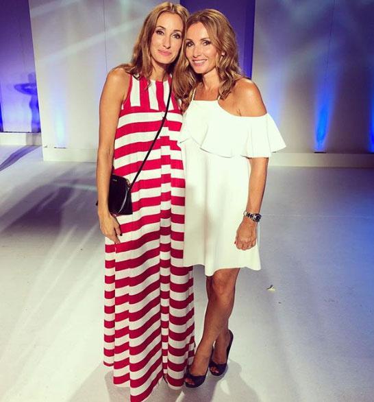 Epres Panni nővére, Judit egy csodaszép, fehér ruhában jelent meg a Miss Balaton szépségversenyen.