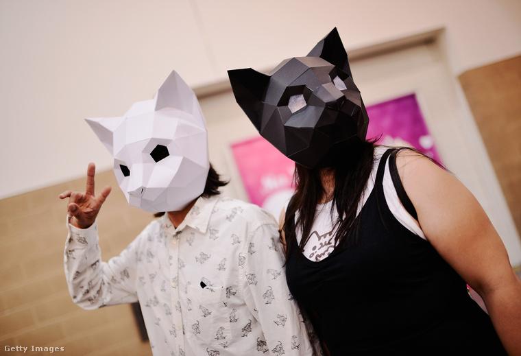 A maszkkategória nyilvánvaló győztese ez a fekete-fehér pár.