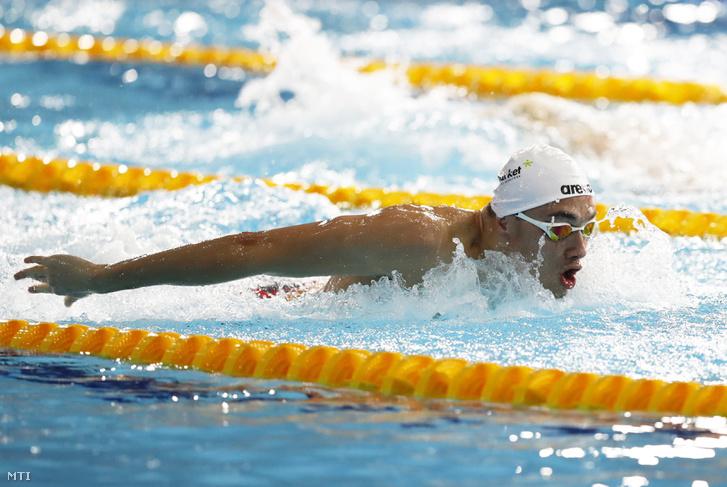 Milák Kristóf a glasgow-i úszó Európa-bajnokságon