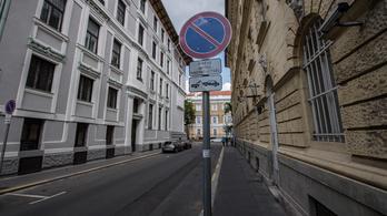 Az orosz nagykövetség kedvéért kiürült az Aradi utca vége