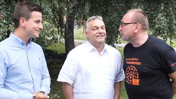 Orbán Viktornak nagy belga rajongója akadt Tusványoson