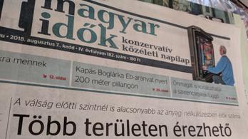 Népszava: Megszűnik a Magyar Idők