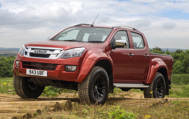 Isuzu D-Max Arctic Trucks AT35 1