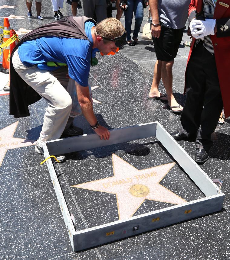 A csillag 2016. júliusában.