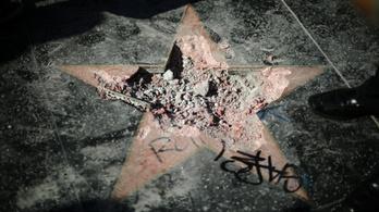 Hollywood inkább eltüntetné Trump csillagát
