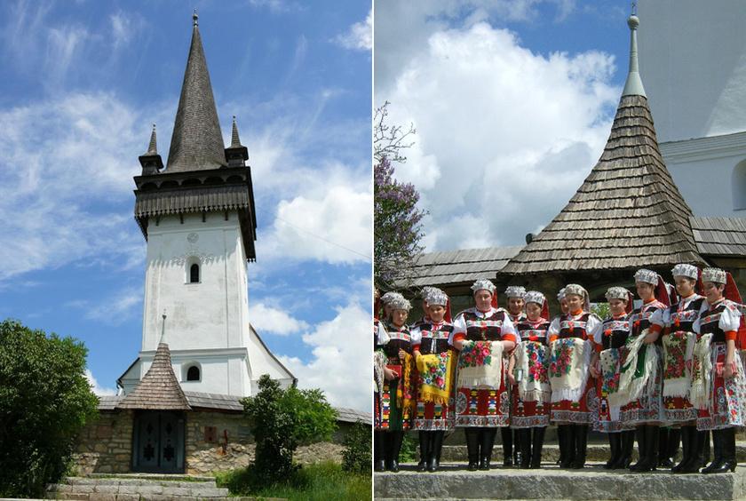 A kalotaszegi Körösfő legfőbb látványossága négy fiatornyos református temploma, de híres az asszonyok varrottasairól és a férfiak fafaragásairól is. Út menti kirakodóvásárt is tartanak.