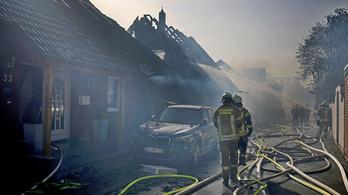 Több száz tűzoltó küzd egy németországi bozóttűzzel