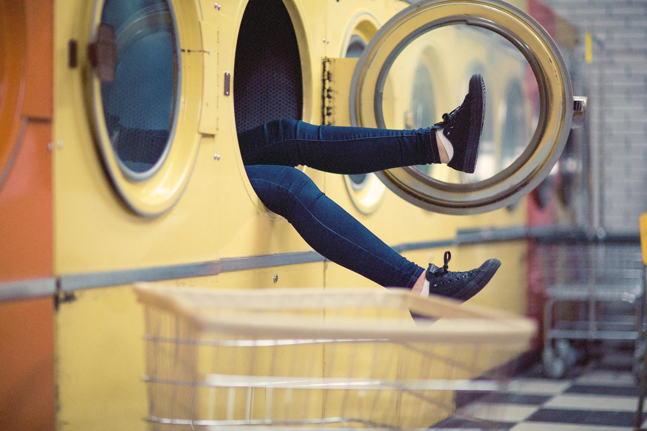 mosógép vicces lábak