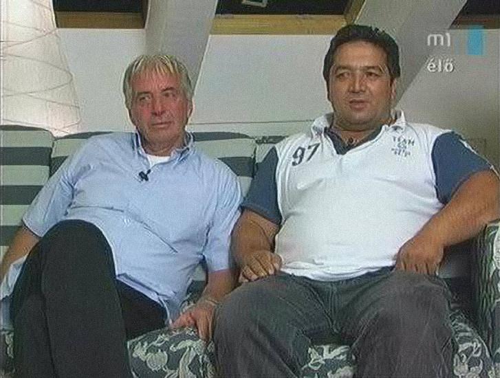 Kaya Ibrahim és Weisz József egy 2008-as tévéinterjúban